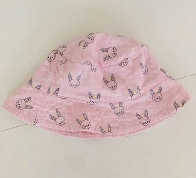 Seed Baby Girls Hat Bunny Pink One Size Baby