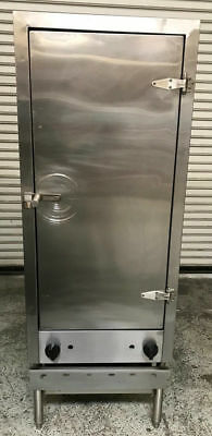 Commercial BBQ Smoker Oven Cabinet Gas Allstrong GSW EQ-30 #7525 Barbecue Grill