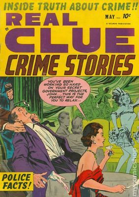 Real Clue Crime Stories Vol. 7 #3 1952 VG+ 4.5