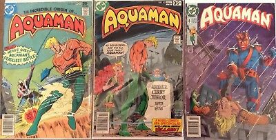 Aquaman Lot Of 3; Vol. 1, Issues # 58, 62; Vol. 4, #8