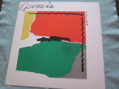 Genesis 1981 Abacab Promo 12x12  Flat Poster Collins Rutherford Banks