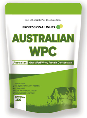 1kg 2kg 3k 4 5kg 10kg Professional Whey Protein Concentrate Powder WPC Grass Fed