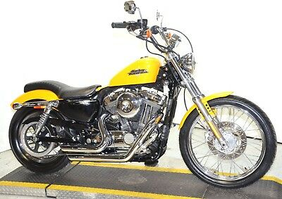 2013 Harley-Davidson Sportster  2013 Chrome Yellow Harley Davidson Sportster Seventy Two 72 XL1200V Pipes Seat