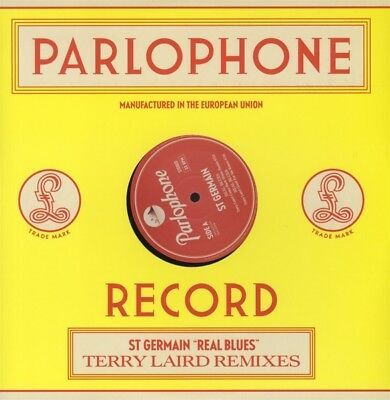 ST Germain - Real Blues (Terry Laird Remix) Vinyl Maxi Parlophone NEW