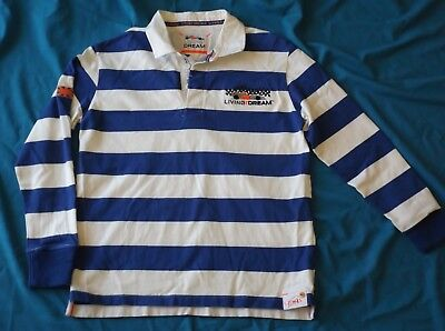 Boys M & S Lewis Hamilton F1 Rugby Shirt Size 13 - 14 Living the Dream