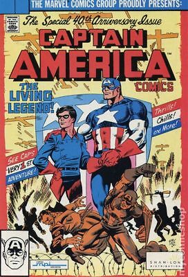 Captain America MPI Audio Edition (Shan-Lon Giveaway) #255 1990 VG/FN 5.0