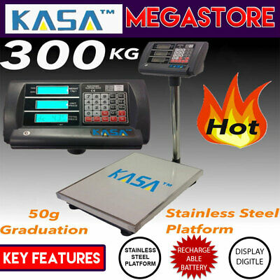 Weight Shop Postal Business Electronic Virtual Computing Charge Scale 300kg