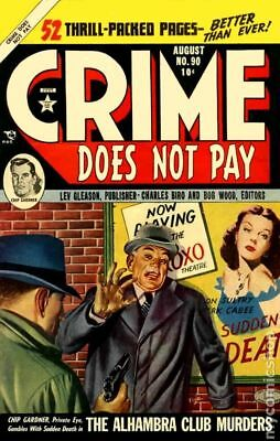 Crime Does Not Pay #90 1950 GD/VG 3.0
