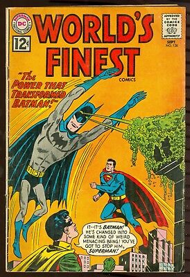 DC Comics Worlds Finest 128 GD/VG Condition