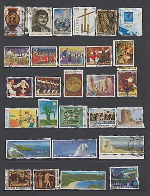 Greece - 28 used stamps  ( Lot 109 )