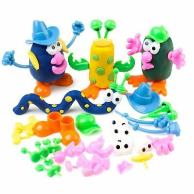 52pc Dough Character Pieces - assorted body parts to create fun characters
