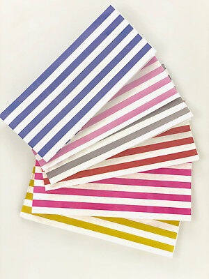 Candy Stripe Sweet | Popcorn | Pick n Mix  | Paper Bags 3x4x9.5''- CHOOSE COLOUR