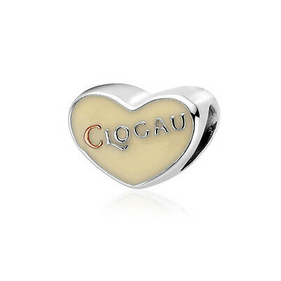 NEW Clogau Silver & Rose Gold Stone Enamel Bead Charm SAVE OVER 50% OFF RRP £69