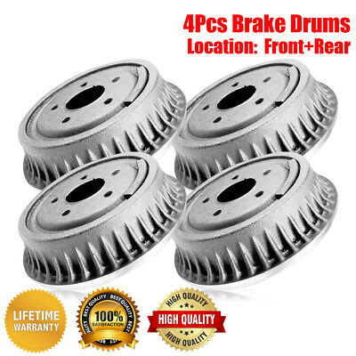 Centric Rear Brake Drums 2 PCS For 1964-1969 Plymouth Barracuda