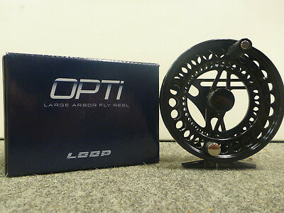 LOOP Opti Dry Fly Black DF 1941 Fliegenrolle, NEU!!!!!