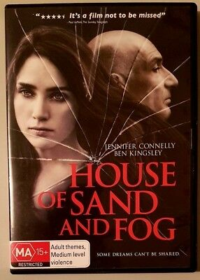 House Of Sand and Fog (Jennifer Connelly) DVD in LIKE NEW condition (Region 4)