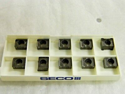 New Seco APKX160416R ME12 F40M Buy it Now=10 inserts Free Shipping