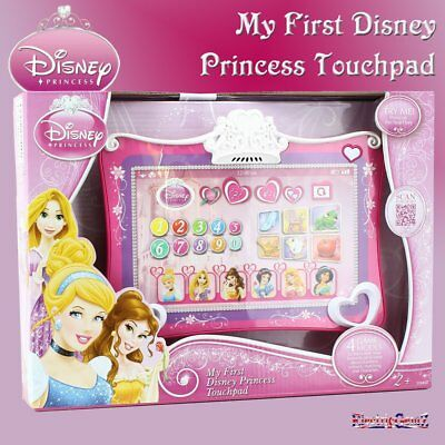 Disney Princess My First Touchpad Tablet with 4 Fun Learning Game Modes - New