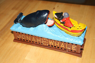 "Historische Spardose Replica Coin Bank ""Jonah and the Whale"""