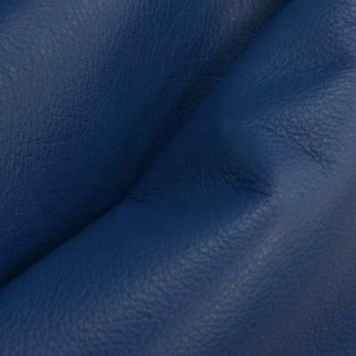 "Regal Royal Blue ""Signature"" Leather Cow Hide 12"" x 12"" 2 1/2-3oz flat grain-6"