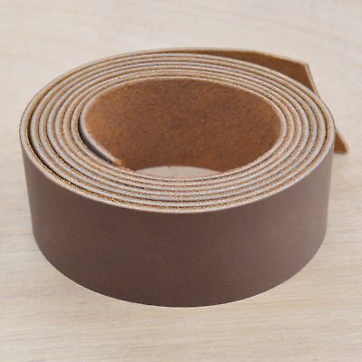"""Rustic Real McCoy Copper Oil Tanned Leather Strap1 1/2""""x 54"""" Strip 4-6oz Hide"""