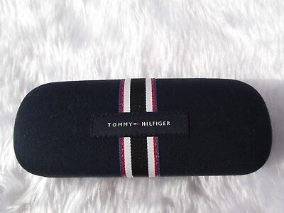 Used - Tommy Hilfiger blue glasses case & cleaning cloth - proceeds to charity