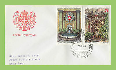 Malta 1983 Sovreign Military Order 21.2.1983 First Day Cover
