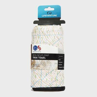 New Lifeventure Giant Towel (Ben Nevis OS Map Print) Camping