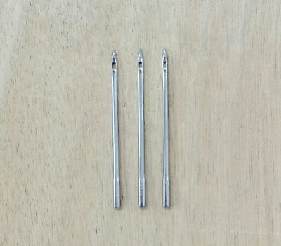 3 Pack #8 Course Sewing Awl needles Leather craft needle