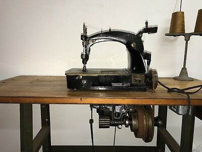 Union Special 6600 Rare Sewing Machine With Belt Drive great for denim or canvas