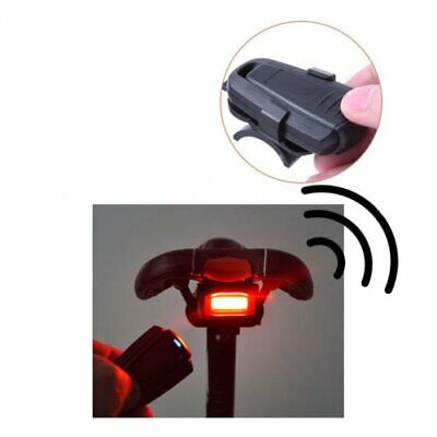 4 In1 Bicycle Bike Security Lock Smart taillights Wireless Alarm With Control UK