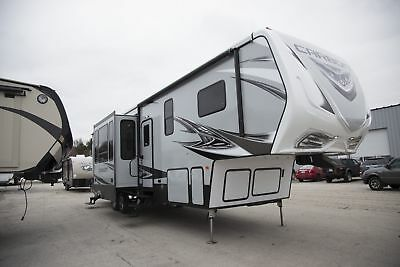 Inventory Liquidation-New Carbon 364 Fifth Wheel Toy Hauler RV w/ 11 Foot Garage
