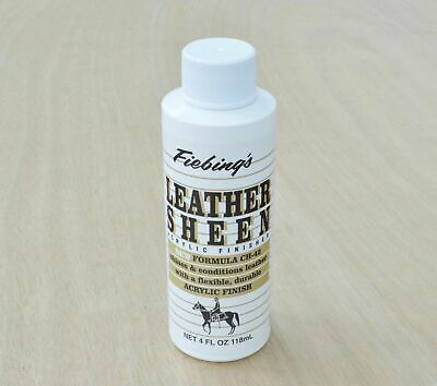 Fiebings Leather Sheen 4 oz flexible finish Leather Guy