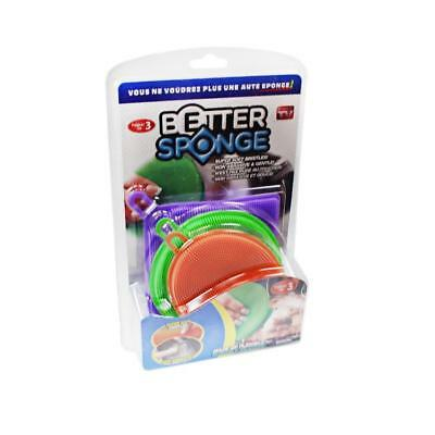 3 PCs Sponges Anti-Bacterial Cleaner Kitchen Better High-grade Silicone Sponge