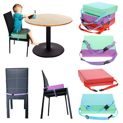 Kids Baby Toddler Increased Add High Chair Seat Pad Safe Booster Dining Cushion
