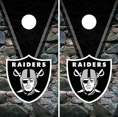 Cornhole Bag Toss Oakland Raiders State Pride Cornhole Board Set Outdoor Sports