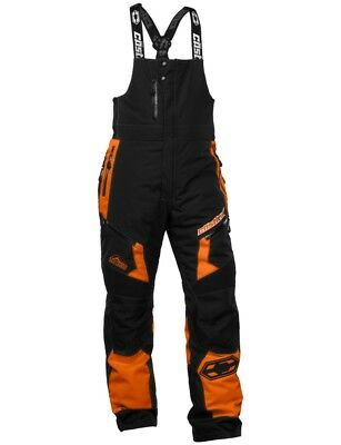 Castle X Tundra Mens Snowmobile Bibs Orange