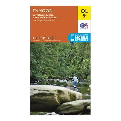 ORDNANCE SURVEY Explorer OL 9 Exmoor Map Orange One Size