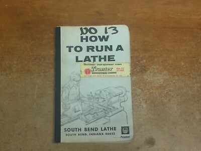How To Run A Lathe South Bend 1966