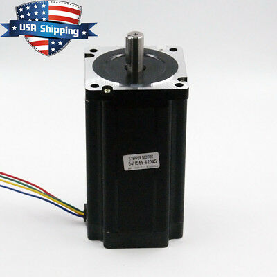 Nema 34 86*156mm Stepper Motor 12Nm (1700oz.in) for CNC Mill Lathe Router