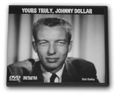 YOURS TRULY JOHNNY DOLLAR-2 mp3 Audio DVD - 748 Shows-Total Playtime: 274:31:52