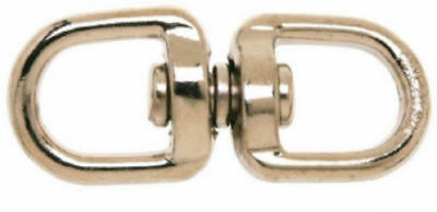 """Campbell T7640302 Round Eye Swivel, 5/8"""" Double End"""