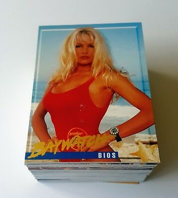 1995 Sports Time Baywatch near complete set 99 of 100 cards Pamela Anderson