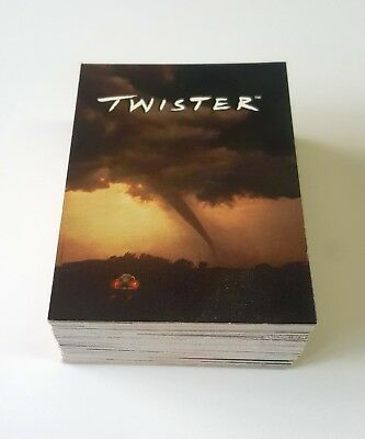 1996 Donruss Twister Movie near complete set 87 of 90 trading cards