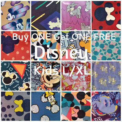LuLaRoe Disney Collection Kids Leggings Size L/XL *You Choose Prints*