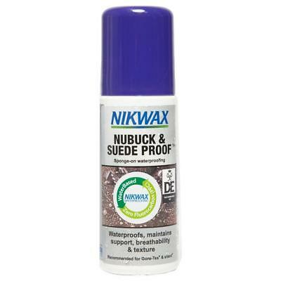 New Nikwax Nubuck & Suede Proofer 125Ml Equipment Multi Cleaning