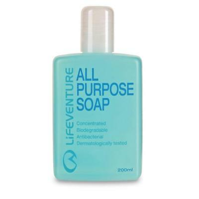 New Lifeventure All Purpose Soap 200Ml Travel Gear Washing