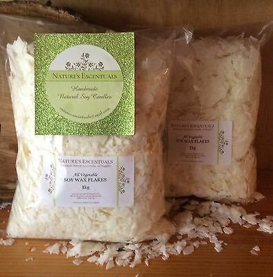 2.5kg 100% Natural SoY WaX FLaKeS - GW464 Easy to Use - Great Results