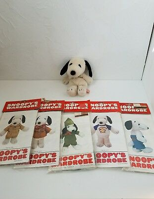 vintage snoopy plush doll 7 outfits - Belles Wardrobe Beagle Scout Jeans Tshirt