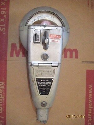 Working* Vintage Parking Meter 60 minutes 1 or 5 Cents Duncan-Miller